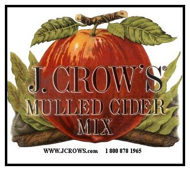 J.Crow's® Mulled Cider Mix
